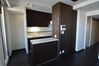 マンション床暖房、キッチン工事