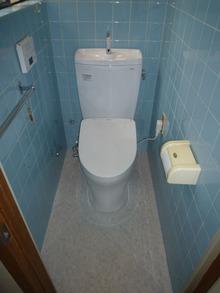 WC改修工事
